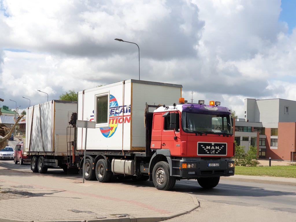 Manipuliatoriaus-fiskaro nuoma, krovinių pervežimas
