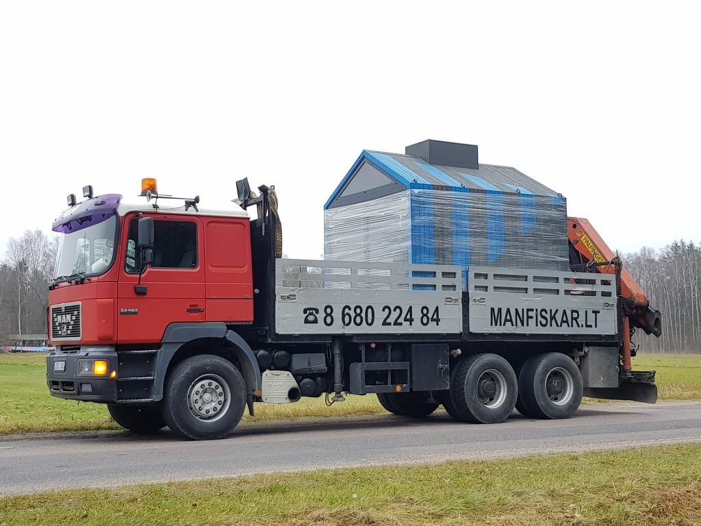 Fiskaro nuoma, krovinių gabenimo paslaugos
